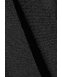 Acne Studios - Black Wool-blend Crepe Tapered Pants - Lyst