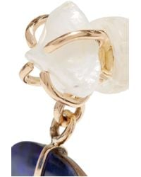 Melissa Joy Manning - Metallic 14-karat Gold, Pearl And Opal Earrings - Lyst