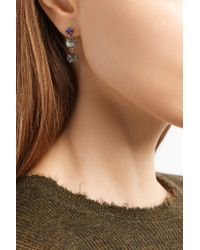 Melissa Joy Manning - Metallic 14-karat Gold, Labradorite And Opal Earrings - Lyst