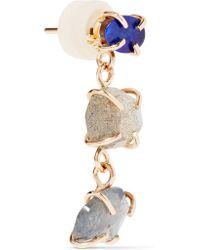 Melissa Joy Manning | Metallic 14-karat Gold, Labradorite And Opal Earrings | Lyst