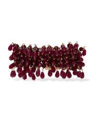 Rosantica - Multicolor Rubina Gold-tone Quartz Bracelet - Lyst