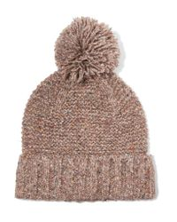 J.Crew | Multicolor Jasper Pompom-embellished Chunky-knit Beanie | Lyst