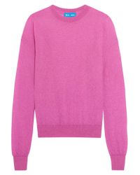 M.i.h Jeans | Pink Inka Mohair-blend Sweater | Lyst
