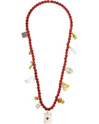 Carolina Bucci | Multicolor Recharmed Favola 18-karat Gold Multi-stone Necklace | Lyst