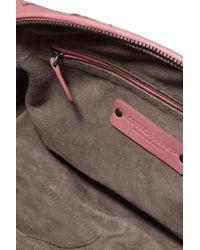 Bottega Veneta - Multicolor Nodini Small Embroidered Intrecciato Leather Shoulder Bag - Lyst