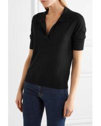 Totême  - Black Rhones Cashmere Sweater - Lyst