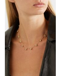 Arme De L'Amour - Metallic Gold-plated Necklace Gold One Size - Lyst