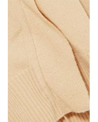 Vince - Natural Cashmere Sweater - Lyst