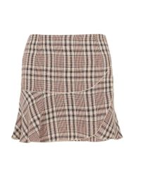 Étoile Isabel Marant | Multicolor Jevil Plaid Linen Mini Skirt | Lyst