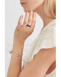 Pamela Love - Blue Silver Lapis Lazuli Ring - Lyst