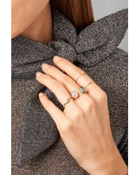 Melissa Joy Manning - Metallic 14-karat Gold, Sterling Silver, Pearl And Pyrite Ring - Lyst