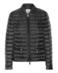 Moncler | Black Blen Quilted Shell Down Jacket | Lyst