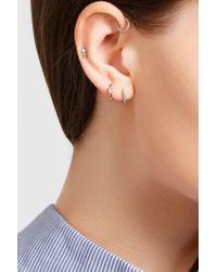 Maria Tash - Metallic 18-karat White Gold Diamond Earring - Lyst