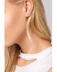 Wwake - Metallic Three Step 14-karat Gold Opal Earring - Lyst