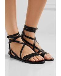 Ancient Greek Sandals - Black Satira Leather Sandal - Lyst