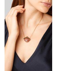 Amrapali - Metallic 18-karat Gold Multi-stone Necklace - Lyst