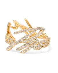Stephen Webster | Metallic + Tracey Emin More Passion 18-karat Gold Diamond Ring | Lyst