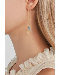 Chan Luu - Metallic Tasseled Gold-plated Silver Earrings - Lyst