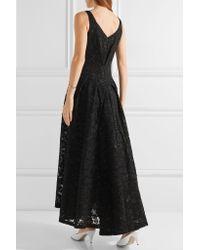 Co. - Black Asymmetric Lace Gown - Lyst
