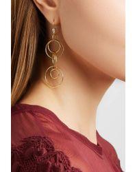 Ippolita | Metallic Glamazon Jet Set 18-karat Gold Diamond Earrings | Lyst