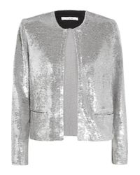 IRO - Multicolor Omana Sequined Tulle Jacket - Lyst