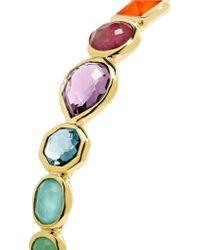 Ippolita - Metallic Rock Candy 18-karat Gold Multi-stone Bracelet - Lyst