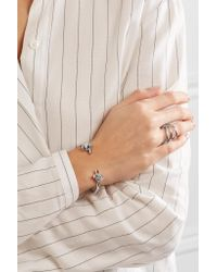 Jennifer Fisher - Metallic Small Double Knot Silver-plated Cuff - Lyst