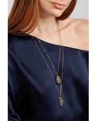 Cvc Stones - Metallic West Hampton 18-karat Gold, Stone And Diamond Necklace - Lyst