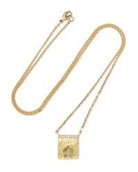 Brooke Gregson | Metallic 18-karat Gold Diamond Necklace | Lyst