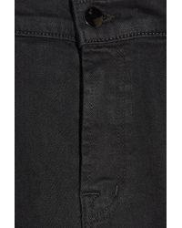 J Brand | Black Ruby Cropped High-rise Skinny Jeans | Lyst