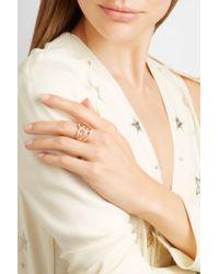 Stephen Webster - Pink Thorn 18-karat Rose Gold Diamond Ring - Lyst