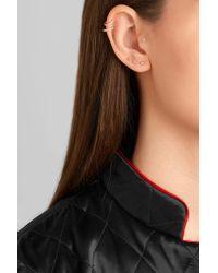 Maria Tash - Metallic 14-karat Gold Diamond Earring - Lyst