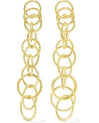 Buccellati - Metallic Hawaii Honolulu 18-karat Gold Earrings - Lyst