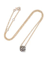 Pomellato - Metallic Nudo 18-karat Rose Gold Diamond Necklace - Lyst