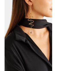 Ellery - Metallic Solitude Gold-plated Earrings - Lyst