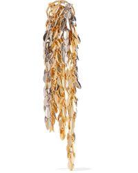 Loewe - Metallic Gold And Palladium-tone Earring - Lyst