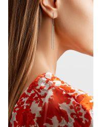 Carolina Bucci - Double Magic Wand 18-karat White Gold Earrings - Lyst