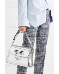 J.W. Anderson - Pierce Medium Metallic Leather Shoulder Bag - Lyst