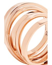 Repossi | Metallic Technical Berbère 18-karat Rose Gold Ring | Lyst