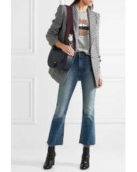 Anya Hindmarch Multicolor Victory Leather-appliquéd Canvas Bag Strap