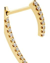 Maria Tash - Metallic Talon 18-karat Gold Diamond Earring - Lyst