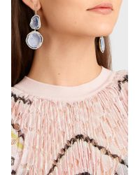 Kimberly Mcdonald - Metallic 18-karat Gold, Diamond And Geode Earrings - Lyst