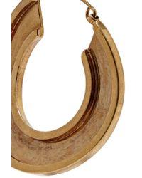 Marni - Metallic Monile Gold-tone Hoop Earrings - Lyst