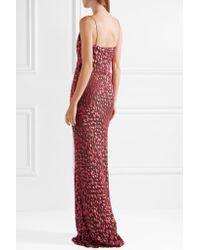 Jason Wu - Pink Devoré Silk-blend Chiffon Gown - Lyst