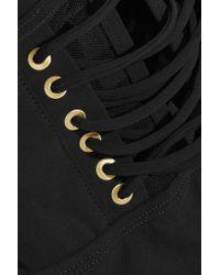 Zimmermann - Black Tulsi Lace-up Swimsuit - Lyst