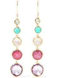 Ippolita - Metallic Lollipop Lollitini 18-karat Gold Multi-stone Earrings - Lyst