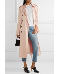 Elizabeth and James - Multicolor Aaron Satin Trench Coat - Lyst