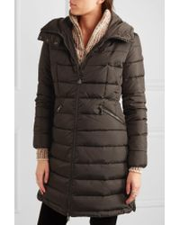 Moncler | Multicolor Flamette Quilted Shell Down Coat | Lyst