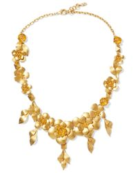 Valentino | Metallic Gold-tone Necklace | Lyst