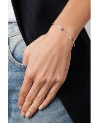 Anita Ko - Multicolor 18-karat White Gold Diamond Cuff - Lyst